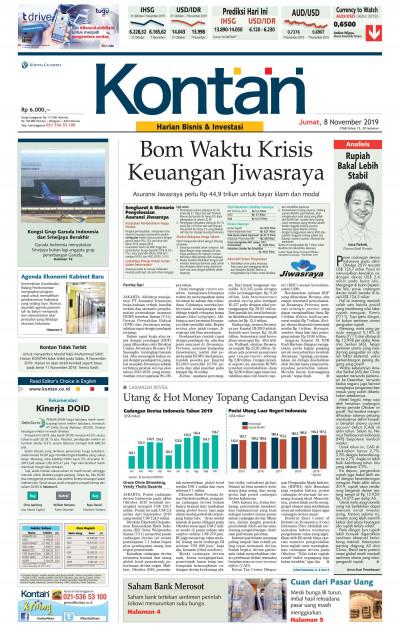 Kontan Harian - 08 November 2019