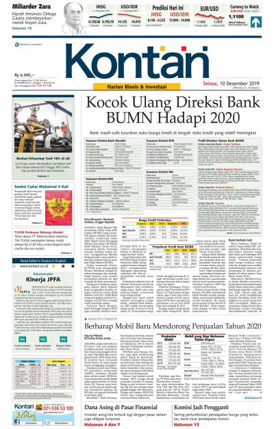 Kontan Harian - 10 Desember 2019