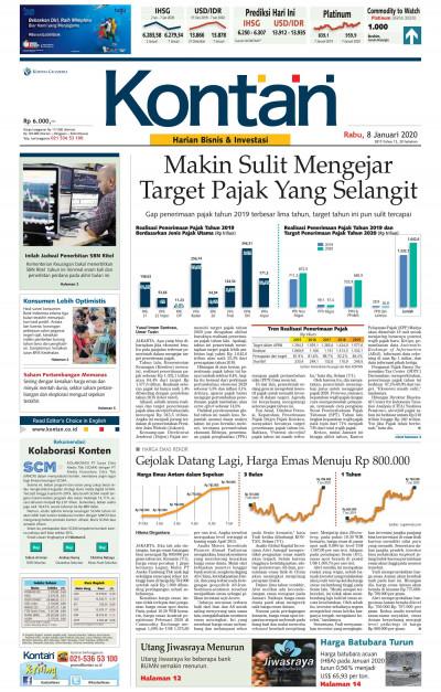Kontan Harian - 08 Januari 2020