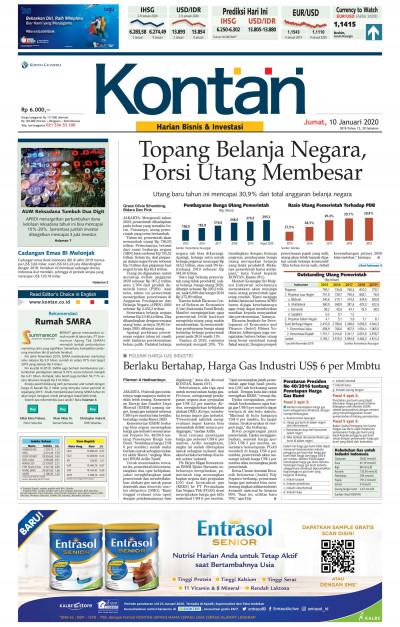 Kontan Harian - 10 Januari 2020