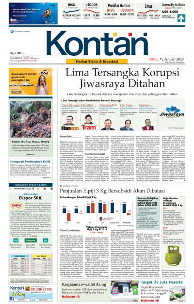 Kontan Harian - 15 Januari 2020