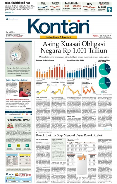 Kontan Harian - 11 Juli 2019