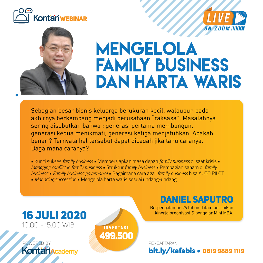 Mengelola Family Business dan Harta Waris