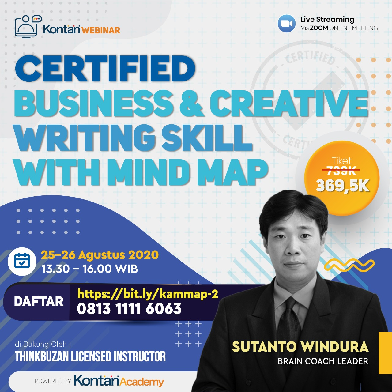 Certified Business & Creative Writing Skills with Mind Map (Batch 2)