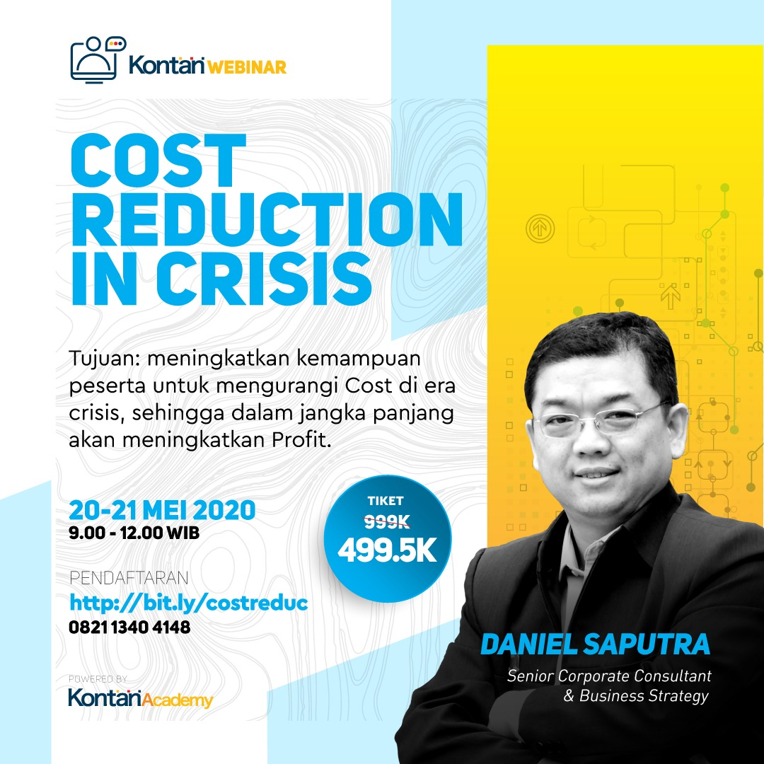 Webinar :  Cost Reduction in crisis