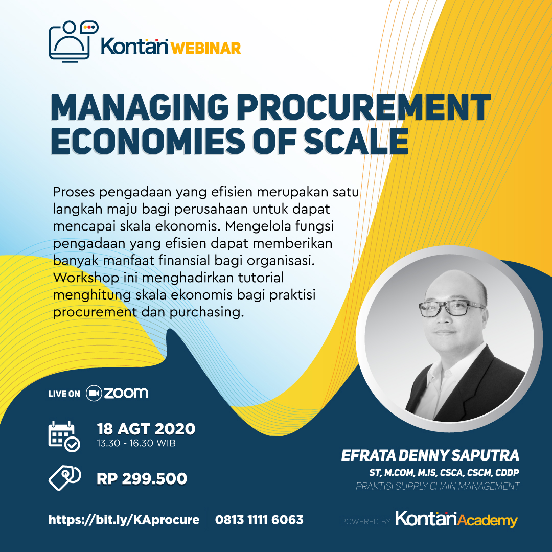 Managing Procurement Economies of Scale