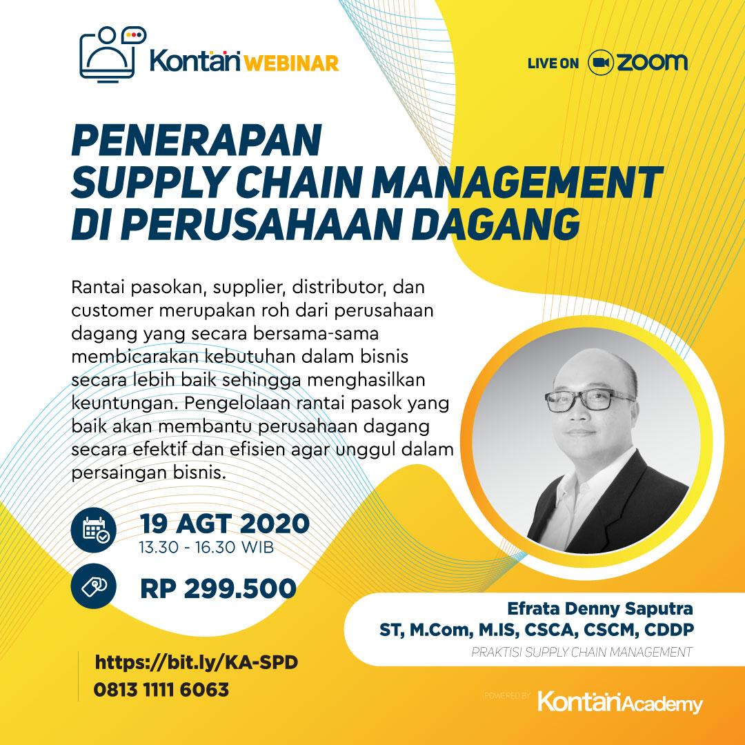 Penerapan Supply Chain Management di Perusahaan Dagang