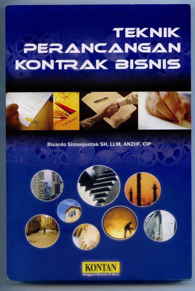 Teknik Perancangan Kontrak Bisnis (cetakan pertama)