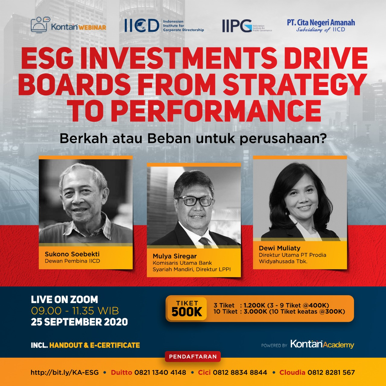 ESG drives boards from Strategy to Performance
