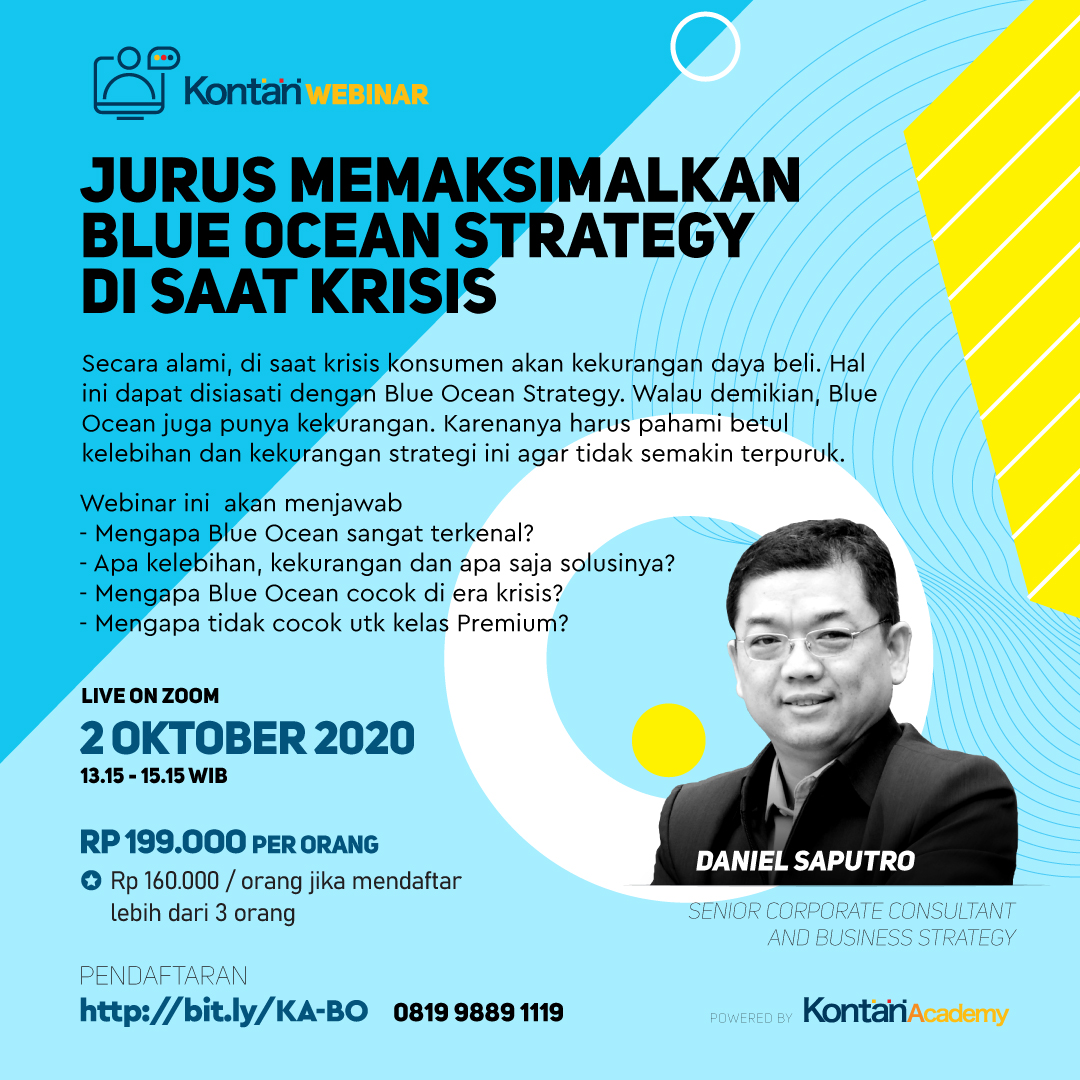 Jurus memaksimalkan Blue Ocean Strategy disaat krisis