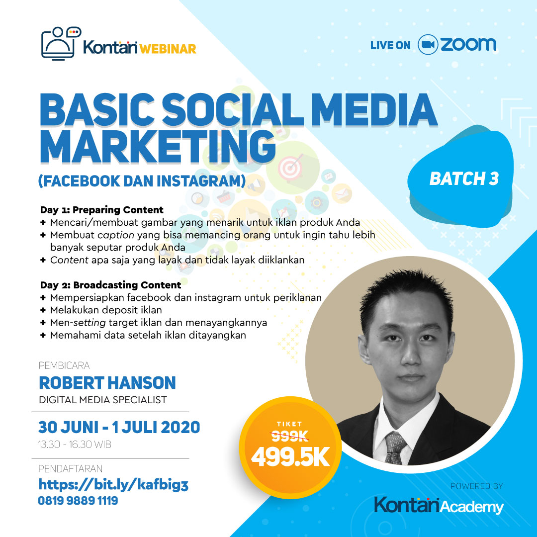 Basic Social Media Marketing Strategy (Facebook & Instagram) BATCH 3