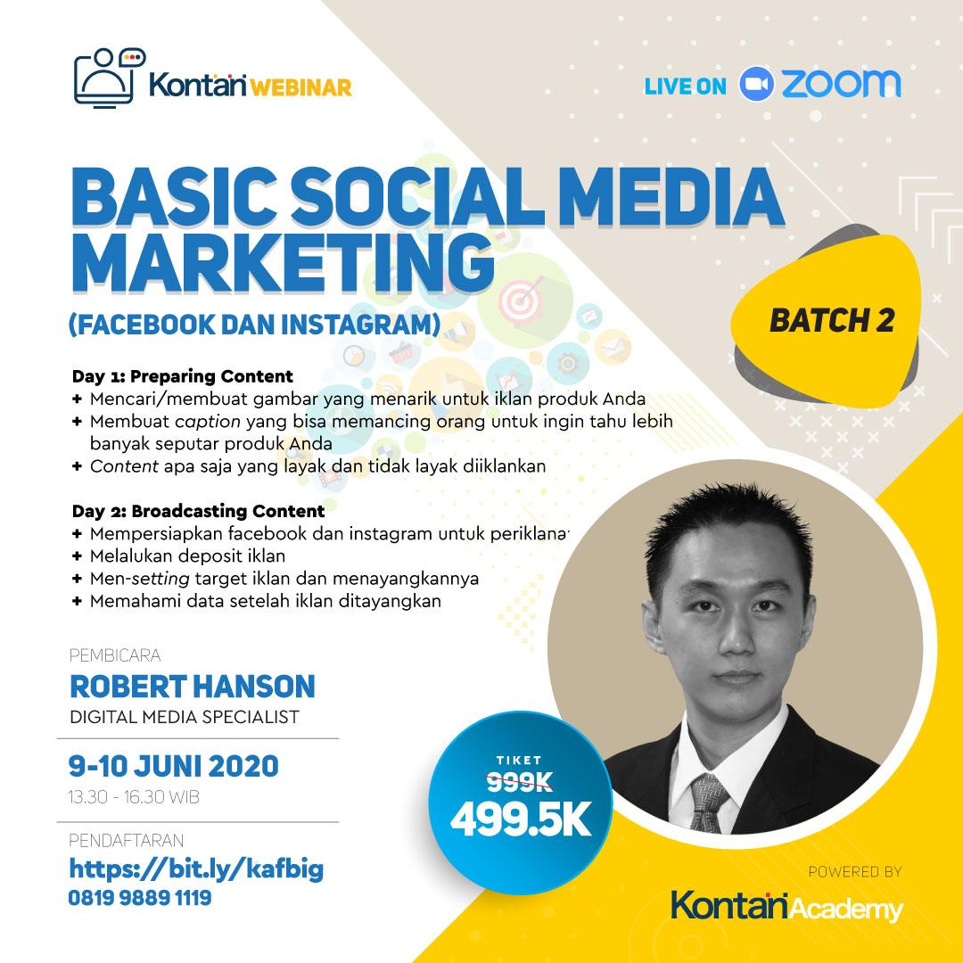 Basic Social Media Marketing Strategy (Facebook & Instagram)