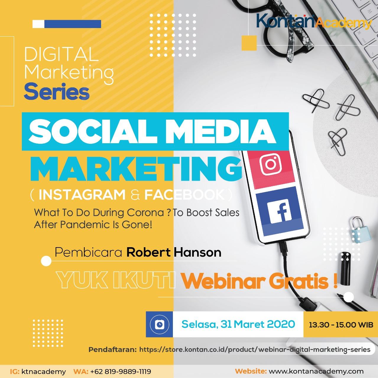 Webinar Social Media Marketing (Instagram & Facebook)