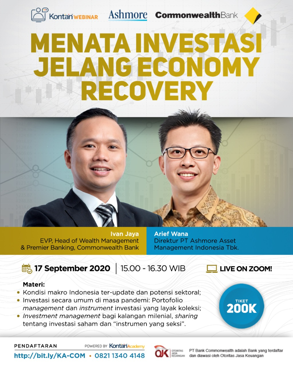 Menata Investasi Jelang Economy Recovery