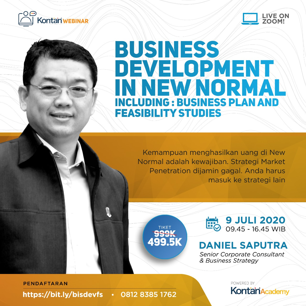Business Development in New Normal {including : Business Plan and Feasibility Studies)