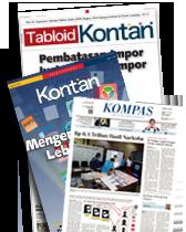 Kompas + Tabloid Kontan + Edisi Khusus Kontan