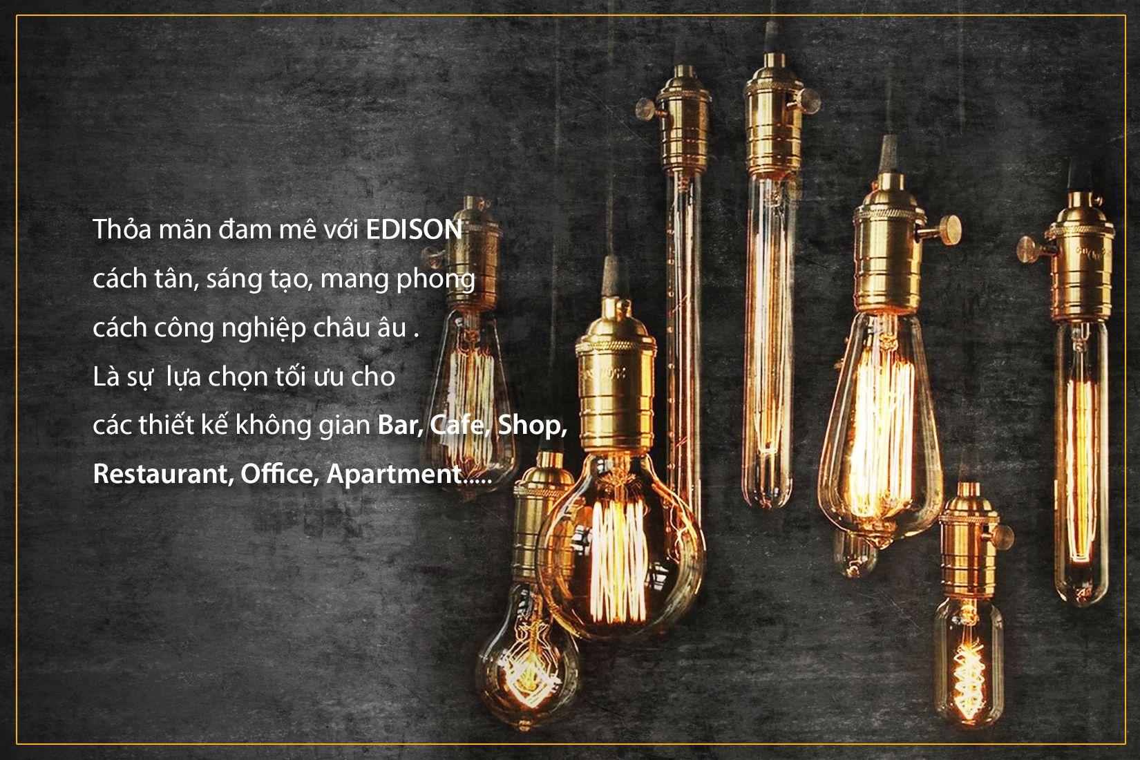 Các sản phẩm Edison + Phụ Kiện tốt tại Đèn Decor - PAYA