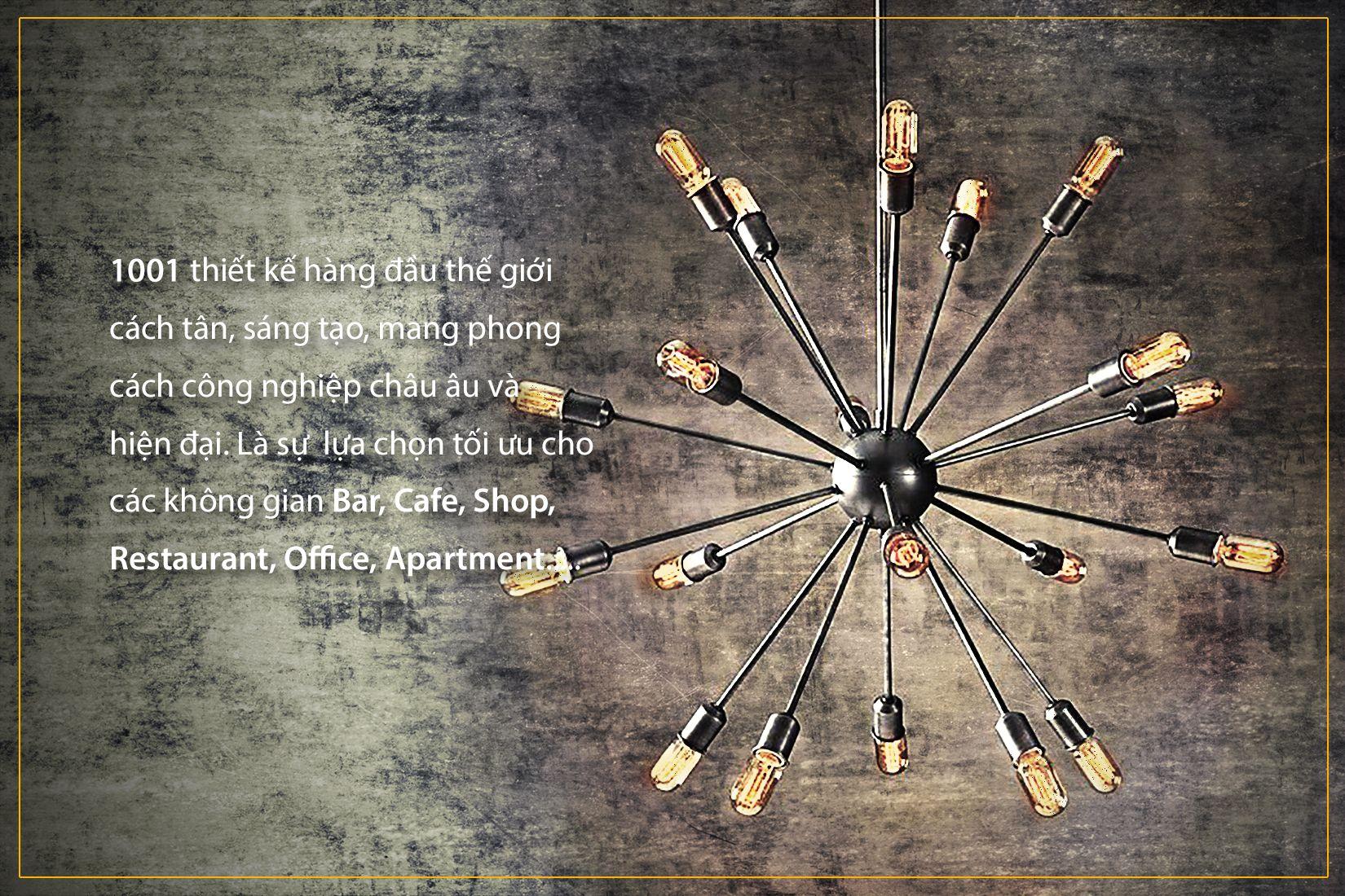 Các sản phẩm 1001 Đèn chùm tốt tại Đèn Decor - PAYA