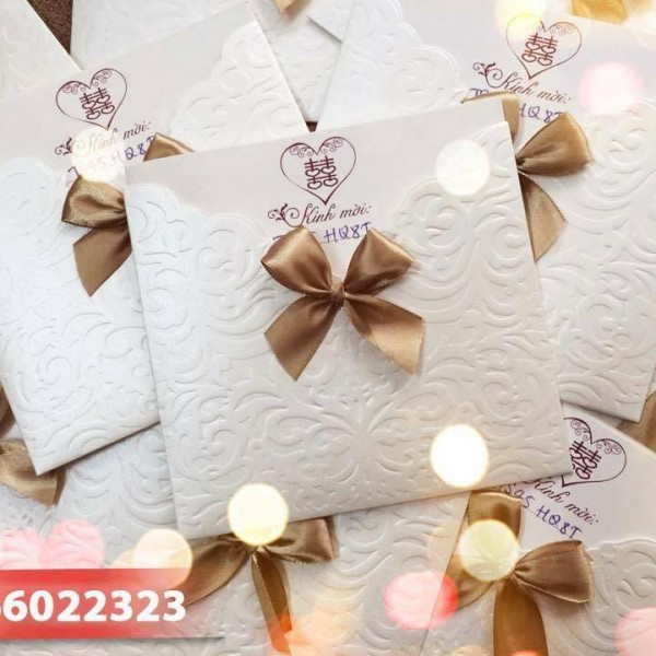 Thiệp cưới cao cấp TS40