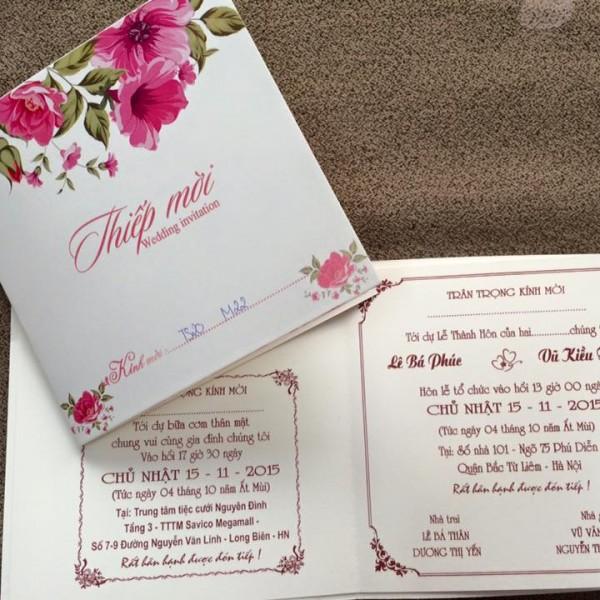 Thiệp cưới hiện đại TS20