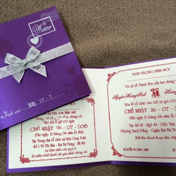 Thiệp cưới cao cấp TS35