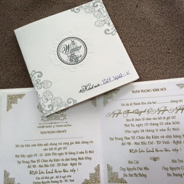 Thiệp cưới hiện đại TS27vip