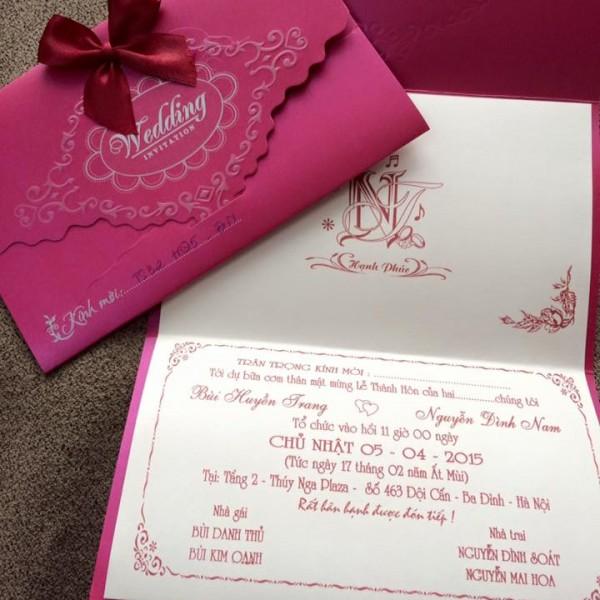 Thiệp cưới cao cấp TS32
