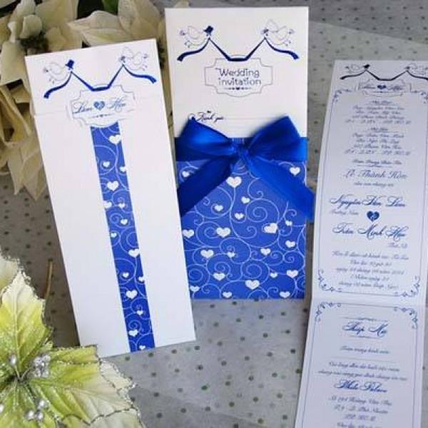 Thiệp cưới ấn tượng DQ 1407