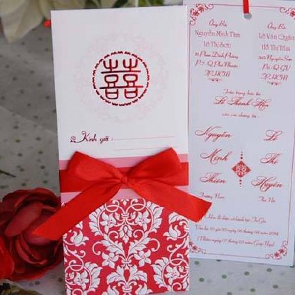 Thiệp cưới hiện đại DQ 1405