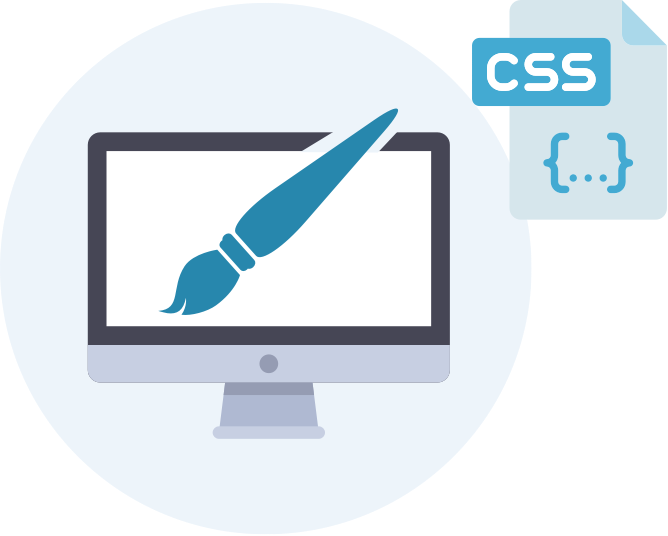 CSS editor for customizability