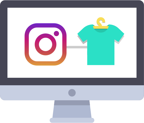 instagram bulk import feature for online shop