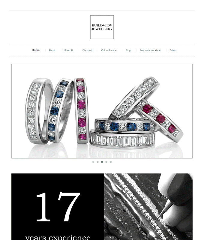 merchant showcase Buildview Jewellery