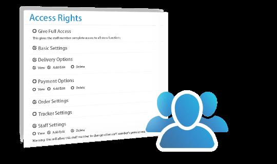 multi-admin user management