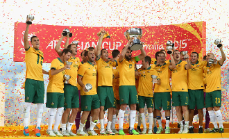 2015 AFC Asian Cup Champions - Australia
