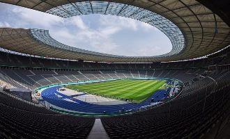 The Olympiastadion in Berlin will host the 2015 UEFA Champions League final