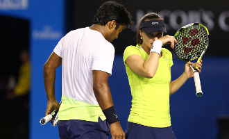 Leander Paes and Martina Hingis win Australian Open