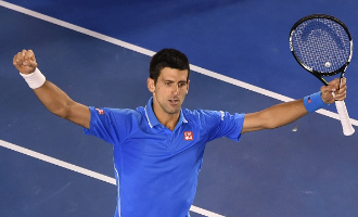 Novak Djokovic 2015 Aus Open Champion