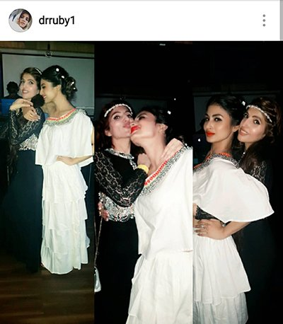 Mouni Roy Birthday celebrations 2016 - 4.png