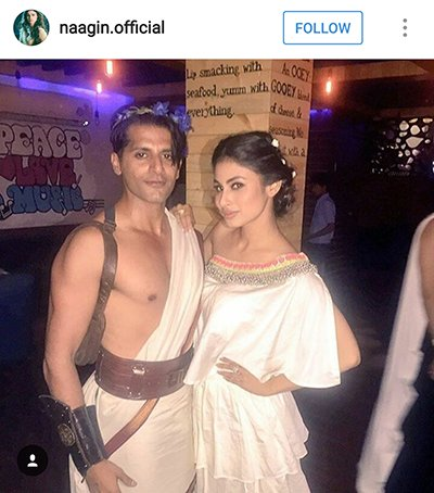 Mouni Roy with Karan Veer Bora.png
