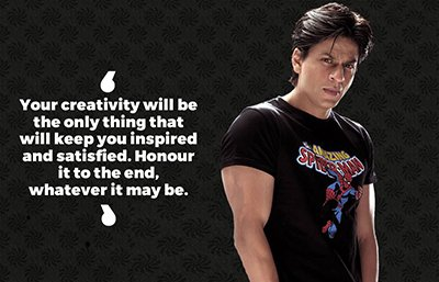 Happy Birthday Shah Rukh Khan 10 Quotes Of King Khan Which Will