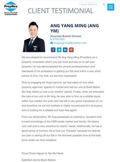 Ang Yang Ming 汪扬铭 testimonial photo #3