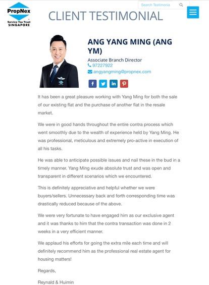 Ang Yang Ming 汪扬铭 testimonial photo #4