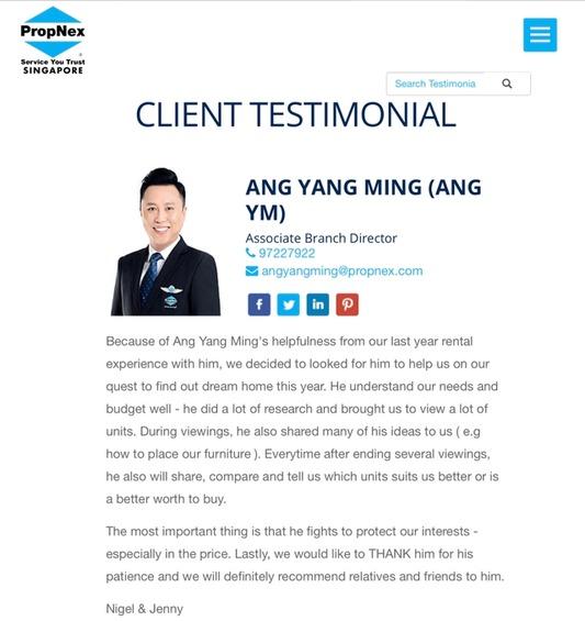Ang Yang Ming 汪扬铭 testimonial photo #5