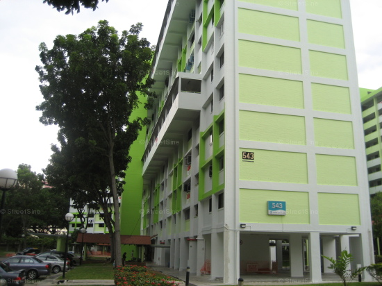 Blk 543 Bedok North Street 3 (Bedok), HDB 4 Rooms #178472