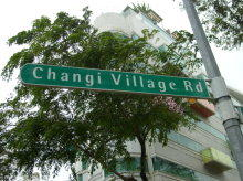Changi Village Road project photo