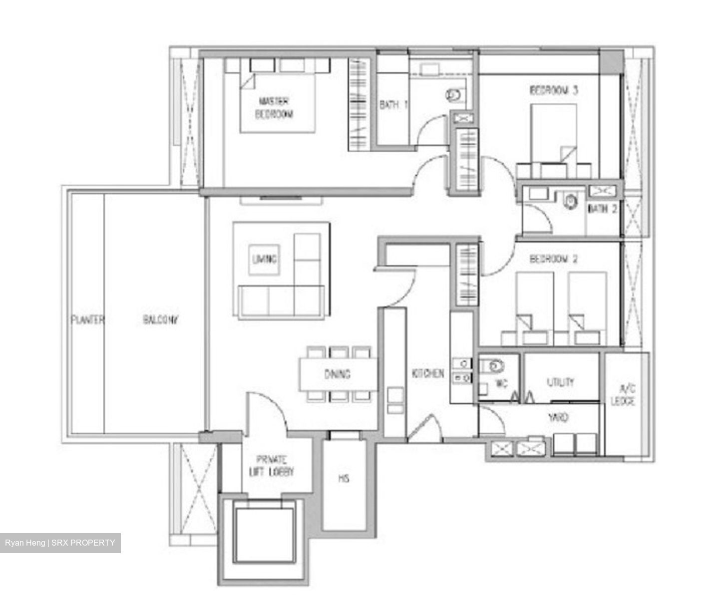 Urban Suites (D9), Condominium #280245741