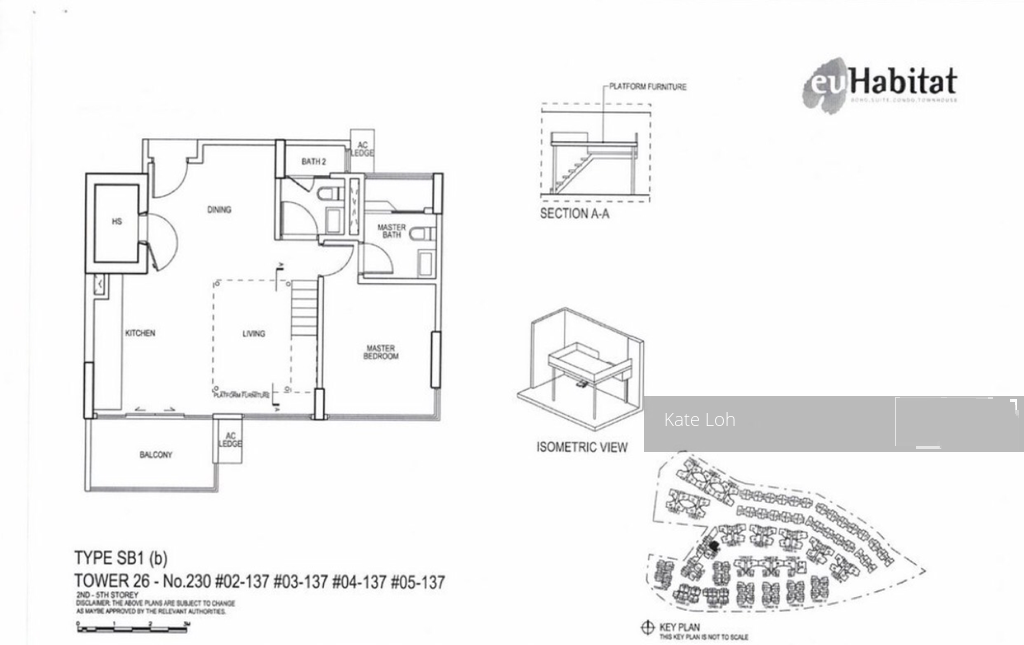 Euhabitat D14 Condominium For Rent 71111622