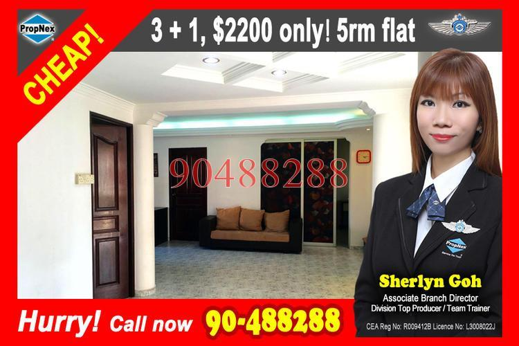 Tampines Street 45 Tampines Hdb 5 Rooms For Rent 72987072