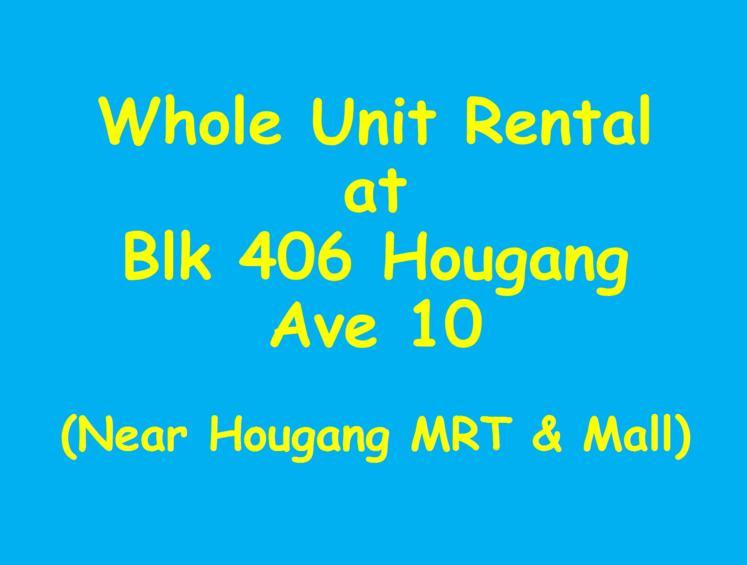 406 Hougang Avenue 10