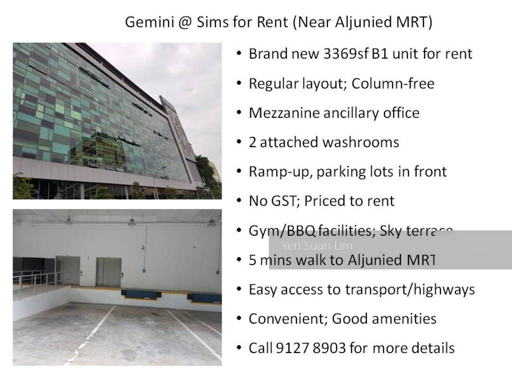 Gemini @ Sims